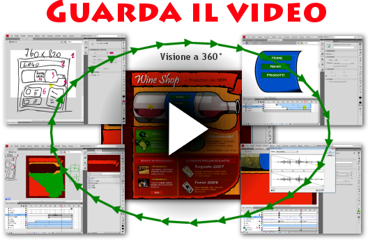 Sito Web Flash CS4 e CS5