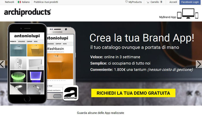 brand app archiproducts